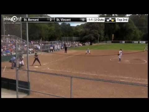 2013 CIF-North Coast Section Division V Softball Championship: St. Bernard Catholic vs. St. Vincent