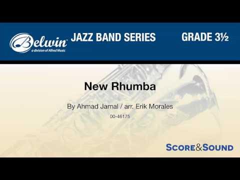New Rhumba, arr Erik Morales – Score & Sound