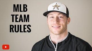 MLB Team Rules