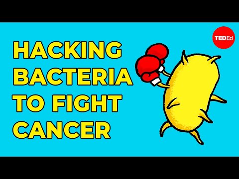 Hacking bacteria to fight cancer - Tal Danino