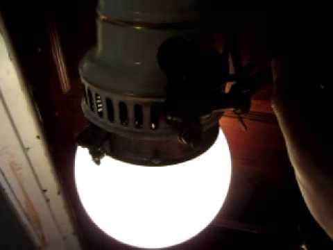 Humphery Inverted Arc Gas Light