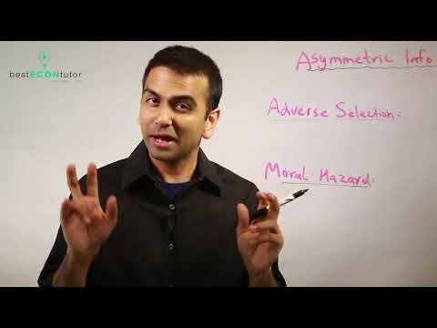 Asymmetric Information (Microeconomics)