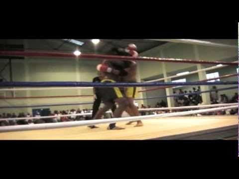 "Kerson Baptist &39;BMA"" vs Babolall ""St Pierre"" Gala Muay Thai Plouis 19 Sept"