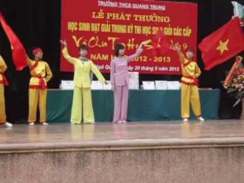 Múa - Hát Đất nước Tiếng Vọng Ngàn Đời - Trường THCS Quang Trung