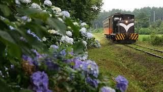 【4k】2018/7/22(Sun) 津軽鉄道飯詰駅博物館開館記念 旧型客車