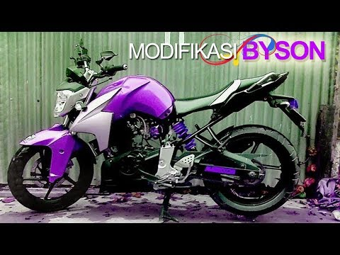 25 Modifikasi Yamaha BYSON Paling Keren & Gagah