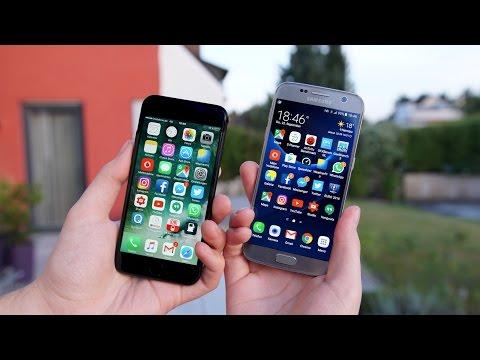 Apple iPhone 7 vs. Samsung Galaxy S7 (Deutsch) | SwagTab