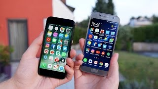 Apple iPhone 7 vs. Samsung Galaxy S7 (Deutsch) | SwagTab