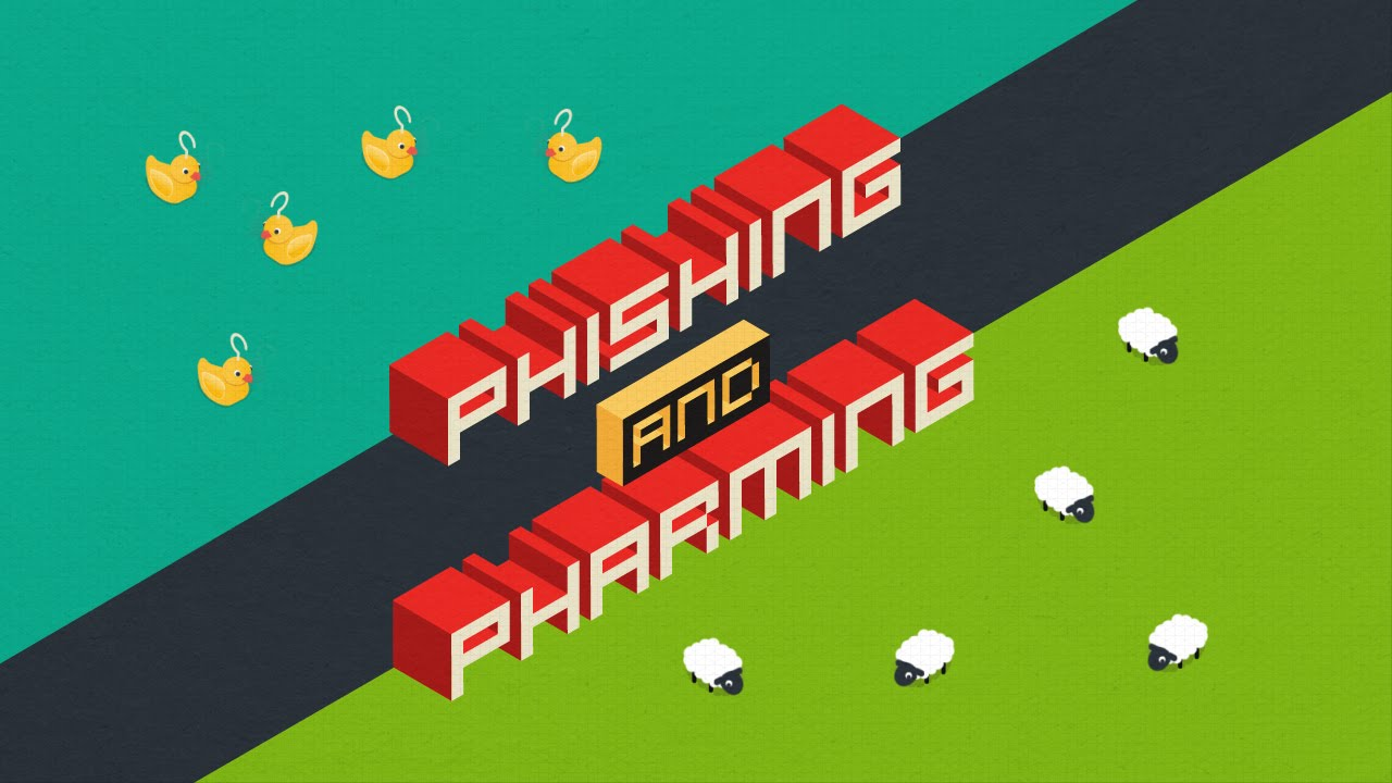 what is phishing and pharming