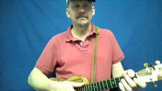 MUJ:  God Bless America (ukulele tutorial)