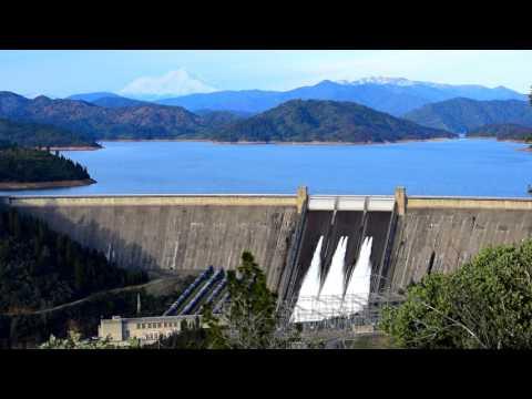 Shasta Dam water release