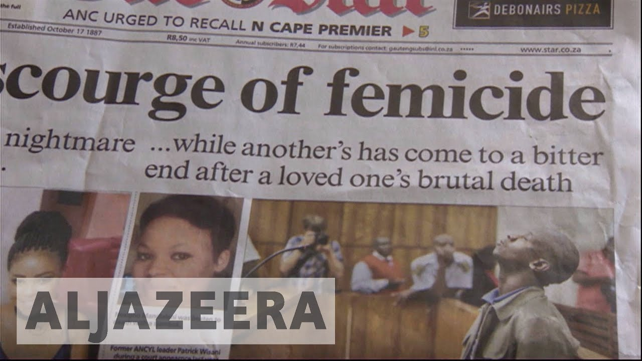 South Africans demand better protection for females after murder wave