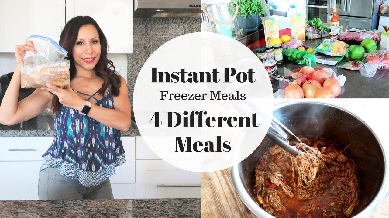 4 Instant Pot Freezer Meals | Paleo | Keto | Clean Eating ...