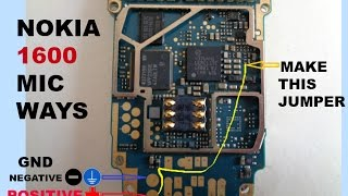 How To Replace Damaged Mic For Nokia 1600