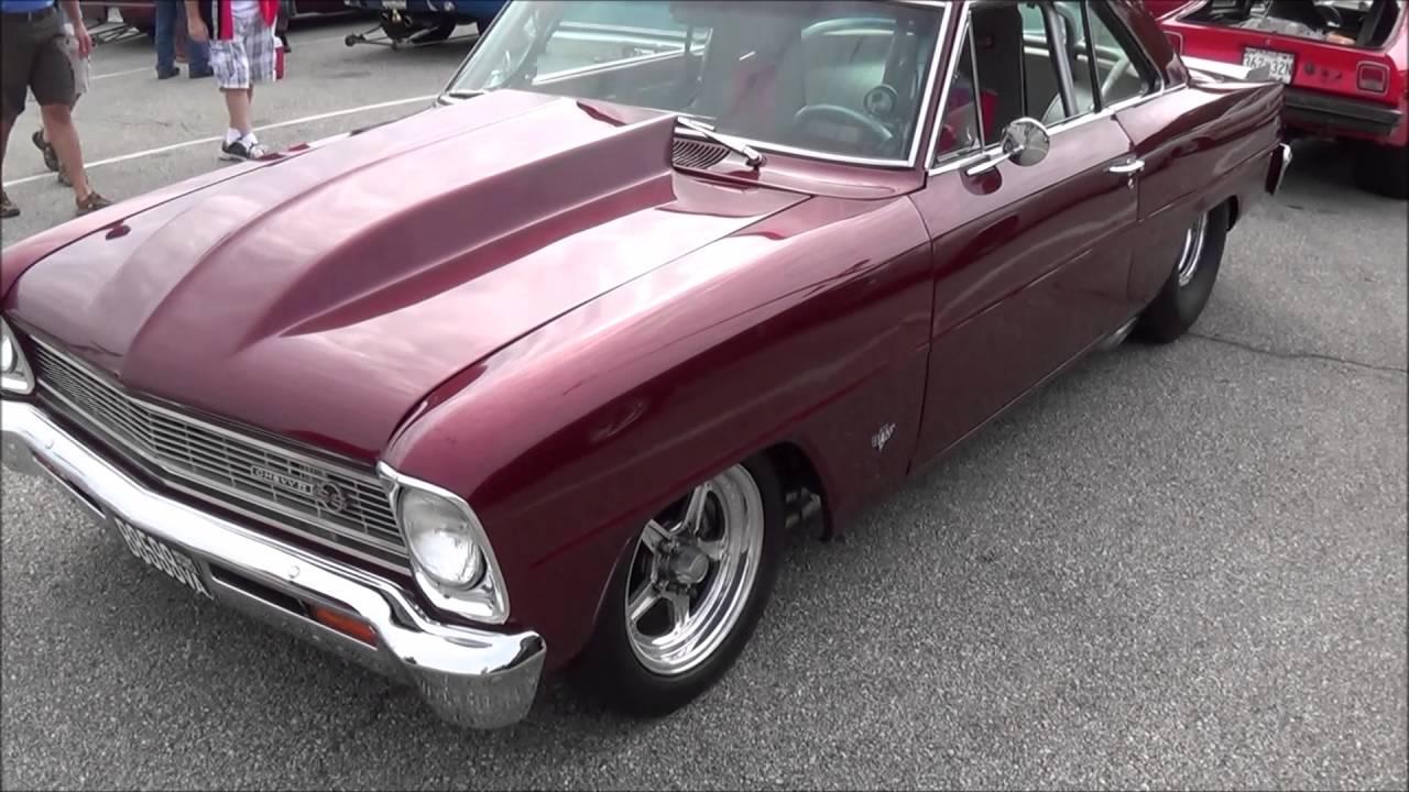 1966 Chevy II Nova 572 Pro Street Race - YouTube