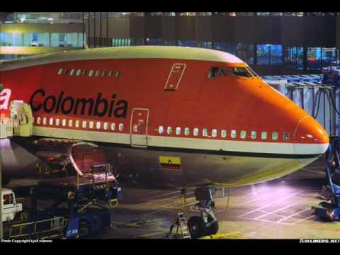 Boeing 747 avianca 1976 1995 youtube for Interior 787 avianca