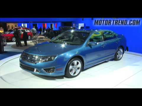2008 los angeles auto show 2010 ford fusion youtube for Motor trend channel youtube
