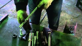 видео Изготовление анкерных блоков по ГОСТ и под заказ