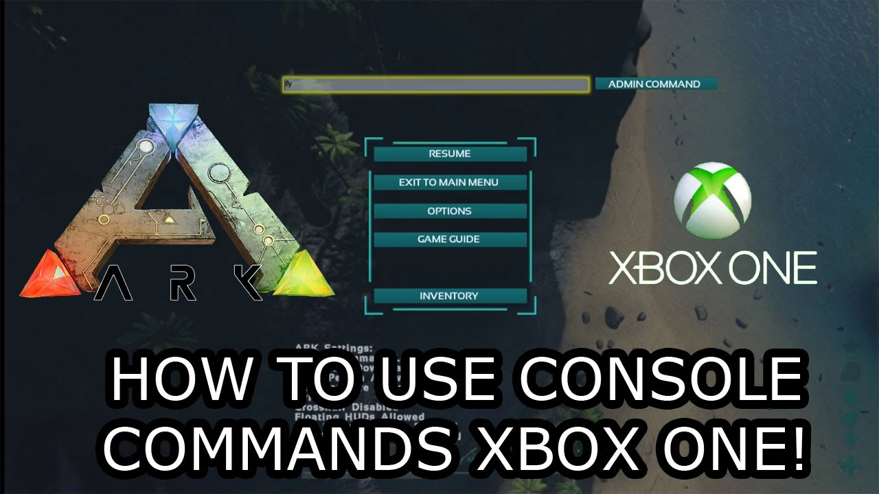 ARK SURVIVAL EVOLVED XBOX ONE HOW TO USE CONSOLE