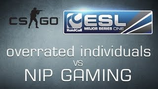 overrated individuals vs Ninjas in Pyjamas - Ro16 RaidCall EMS One Cup 2 - Counter-Strike:GO  HD