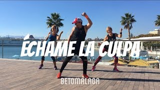 Luis Fonsi & Demi Lovato - ECHAME LA CULPA  | ZumbaFitness | Coreografia [BetoMalaga]