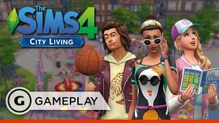 10 Minutes Out On The Town - The Sims 4: City Living Gameplay