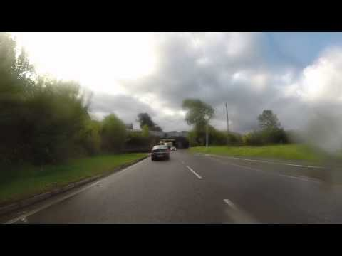 into Machynlleth A487