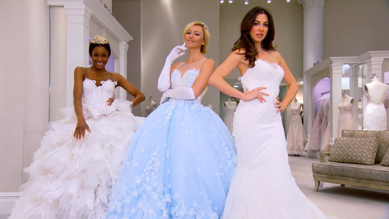 Disney-Inspired Wedding Gowns Will Make You Feel Like a Princess On ...