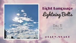 Light Language - Lady Nuage - Lightning Bolt #31