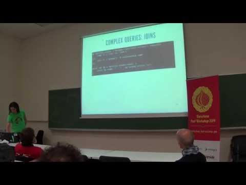 """Oriol Soriano - """"DBIX::Class - Forget about writing SQL"""" @ Barcelona Perl Workshop 2014"""