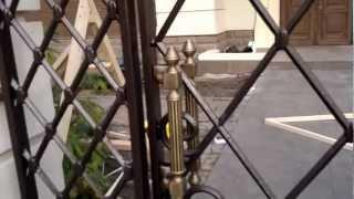 Забор и калитка с декоративными чугунными элементами(, 2012-10-29T08:04:41.000Z)