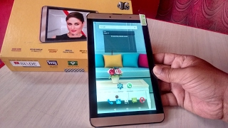 Unboxing iBall 4G Tablet with Dual SIM Hands On & Review