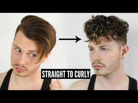 HOW TO GET CURLY HAIR EASY - STRAIGHT TO CURLY INSTANTLY! TUTORIAL 2019