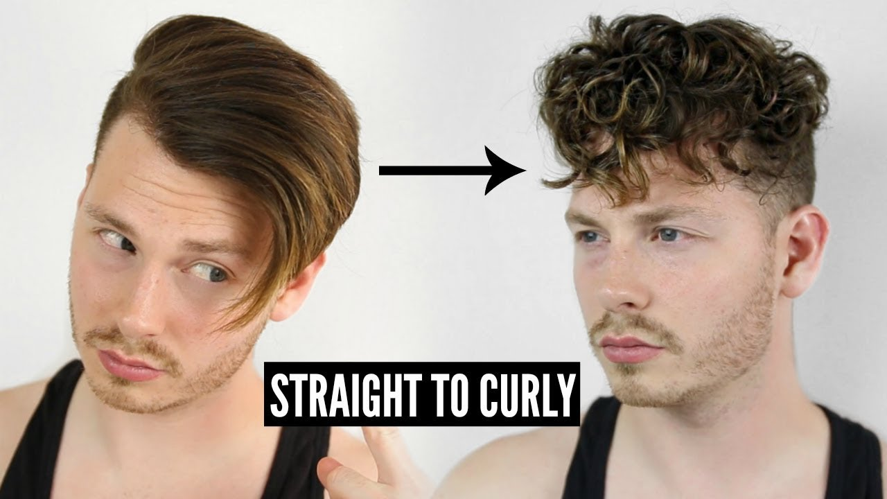 STRAIGHT TO CURLY INSTANTLY