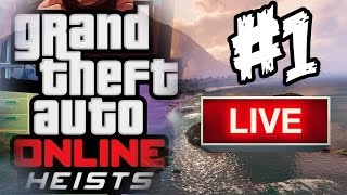 GTA Online Heists Strim  #1