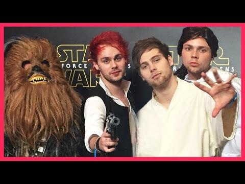 5 Seconds of Star Wars - 5SOS Interviews Star Wars Cast
