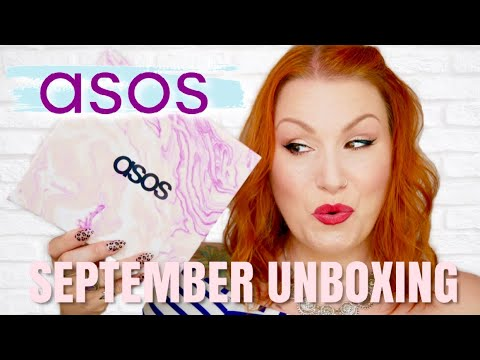 ASOS SEPTEMBER 2019 MONTHLY BEAUTY BOX UNBOXING // THE FAVS BOX !
