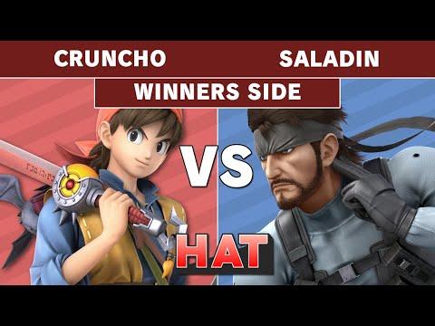 HAT 75 - Cruncho (Hero) Vs. Saladin (Snake) Winners Side - Smash Ultimate