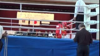 第3回全国アンダージュニアボクシング大会 松本 流星(中学3年) 対 ...