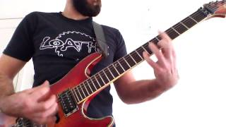 Morgue Orgy - Phantasms of March - Prok guitar play through