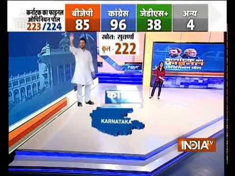 India TV Final Opinion Poll on Karnataka Elections