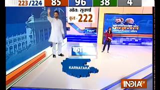 India TV Final Opinion Poll on Karnataka Elections