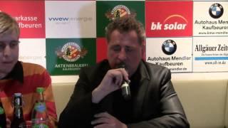 Pressekonferenz ESVK vs. Kassel Huskies am 11.04.2014 (Wir sind Kaufbeuren)