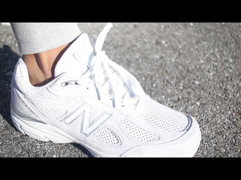 "New Balance 990v4 ""White Artic"" (Dope or Nope) + On Foot"