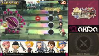 Theatrhythm Final Fantasy Curtain Call - 3DS DEMO - FFVII J-E-N-O-V-A (AC Version)