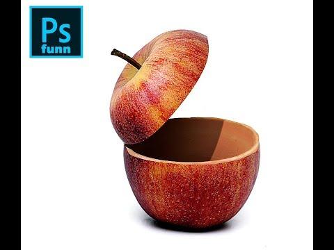Photoshop Tutorial: Apple opened up effect #photoshop #photoshopfunn thumbnail