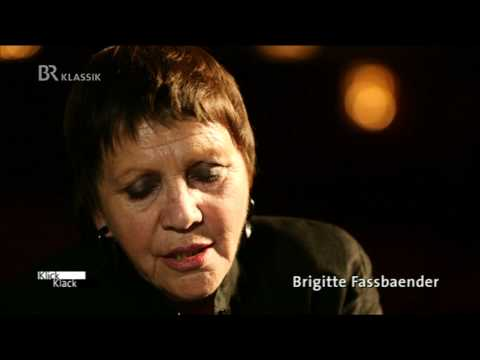 Mezzosopranistin Brigitte Fassbaender