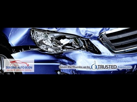 Bergens Autobody are a Trusted Regina Auto Body & Collision repair shop