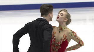 Александра Степанова - Иван Букин. Ритм-танец. NHK Trophy. Гран-при по фигурному катанию 2019/20