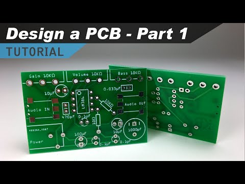 How to Make a Custom PCB - Part 1 - Making the Schematic